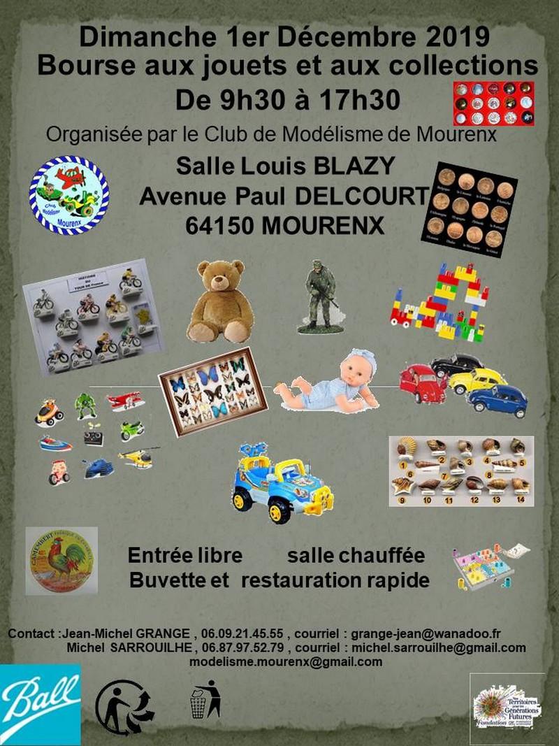 Bourse aux jouets et aux collections - MOURENX