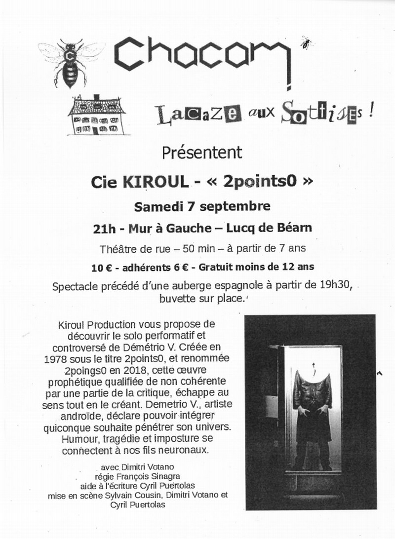 Théâtre de rue - LUCQ-DE-BEARN