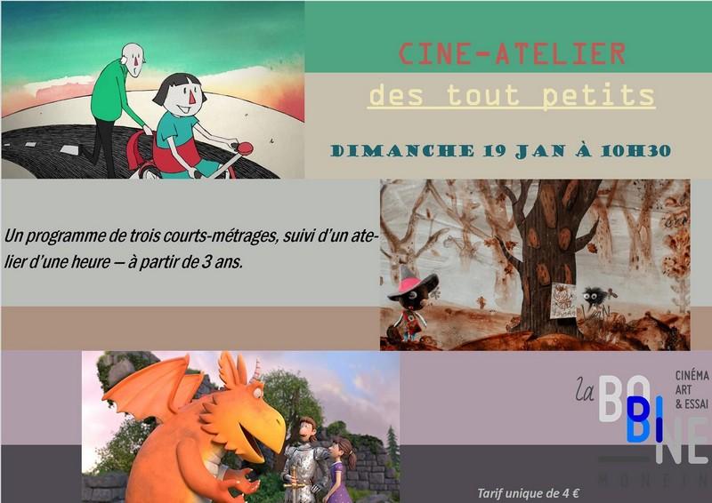 Ciné-atelier des tout petits : Zébulon le Dragon - MONEIN