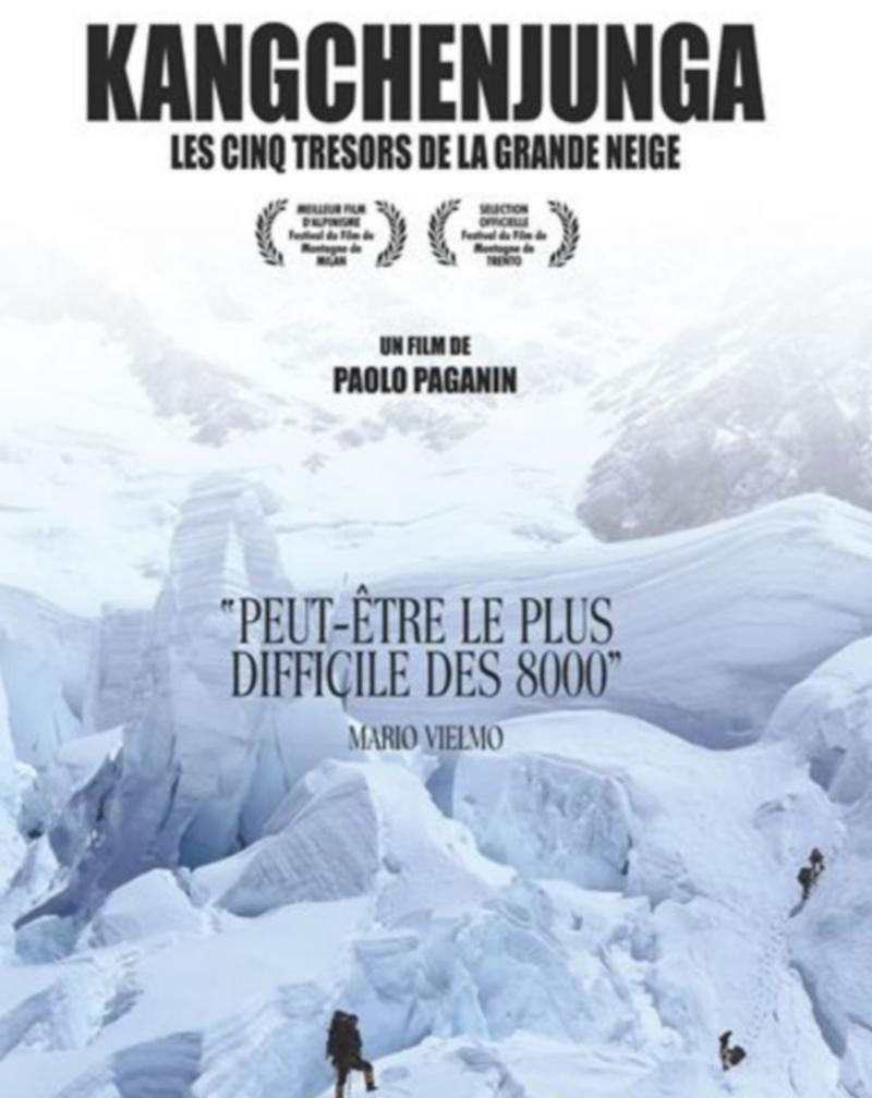 Ciné-Débat : Kangchenjunga les cinq trésors de la grande neige - ORTHEZ