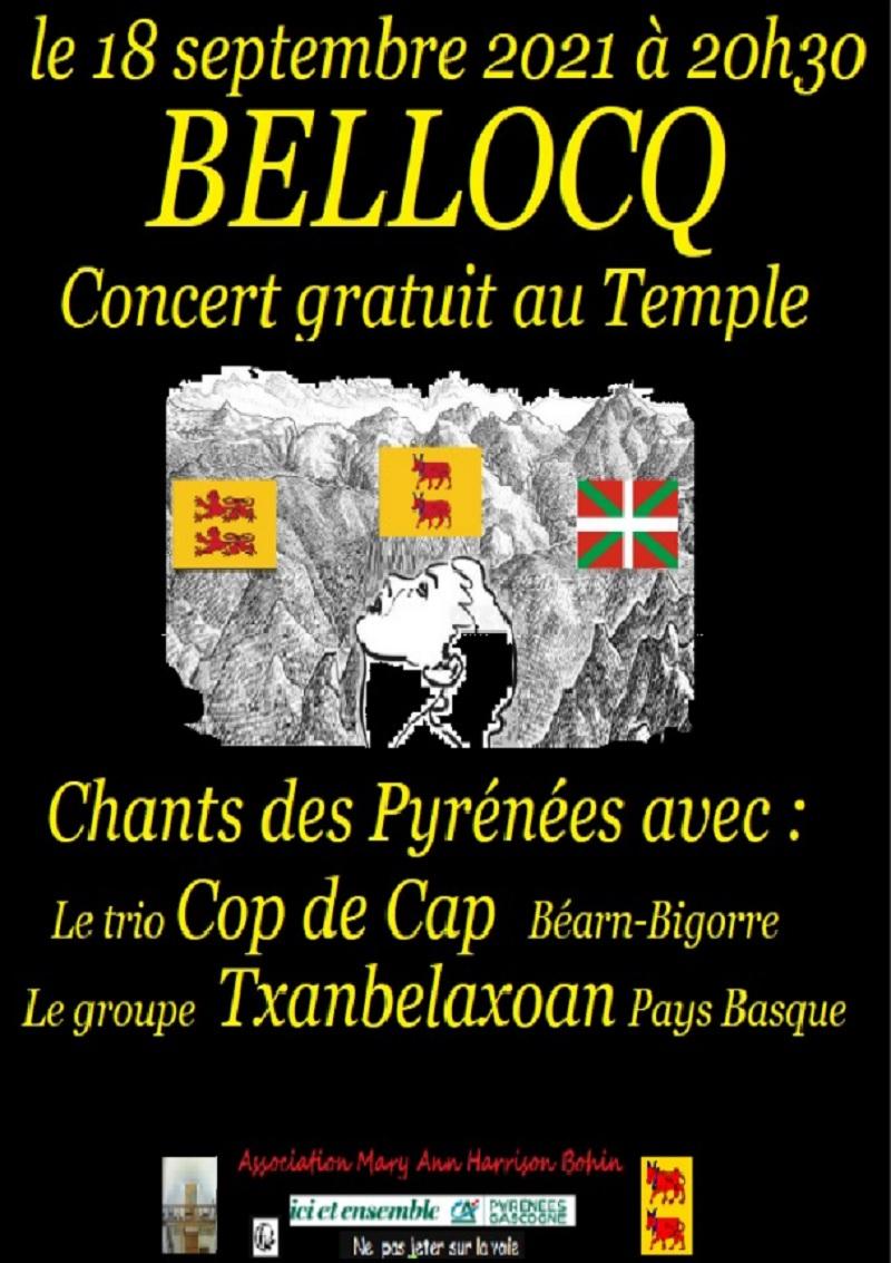 Concert de chants des Pyrénées - BELLOCQ