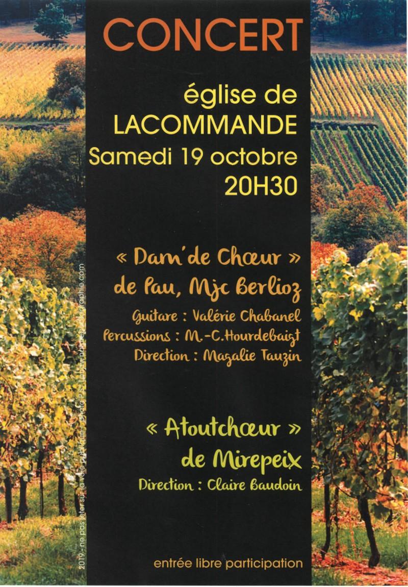 Concert - LACOMMANDE