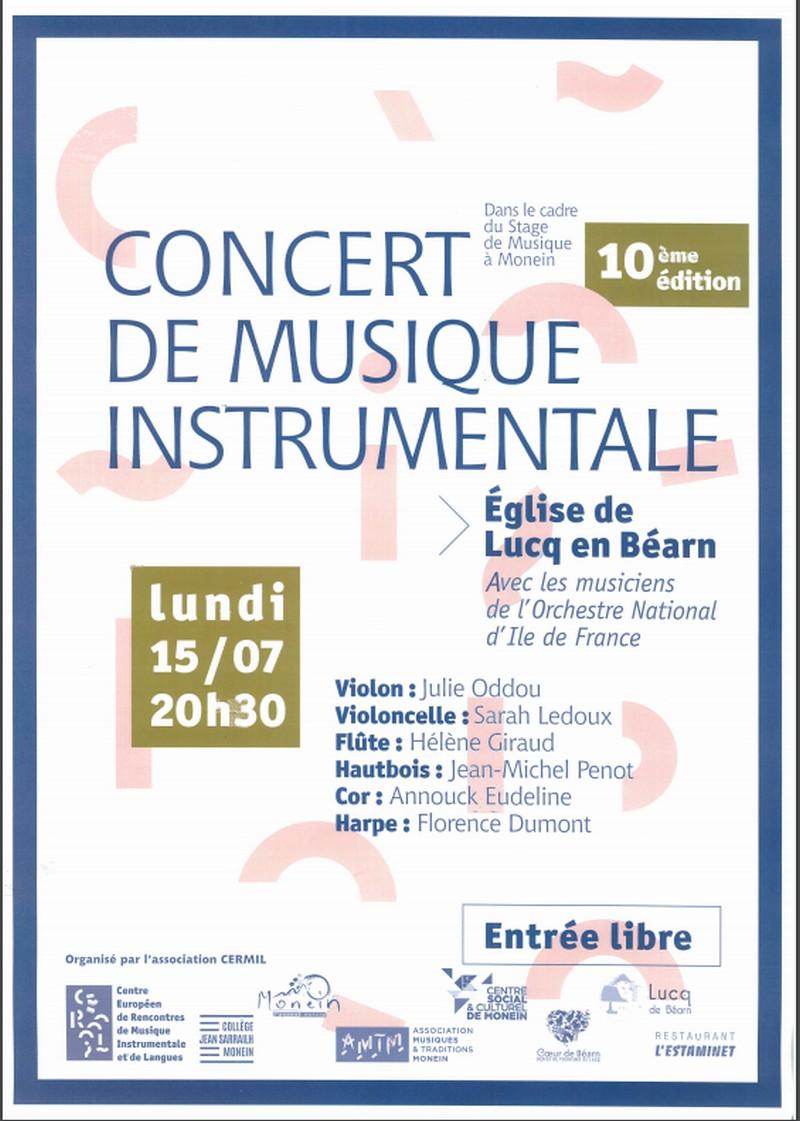 Concert de musique classique - LUCQ-DE-BEARN