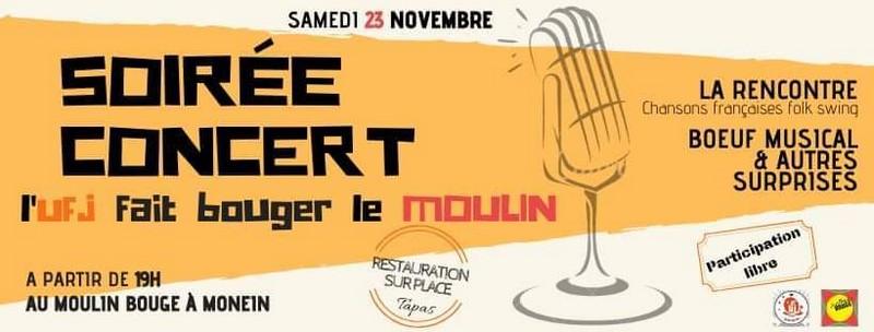 Concert : La Rencontre - MONEIN