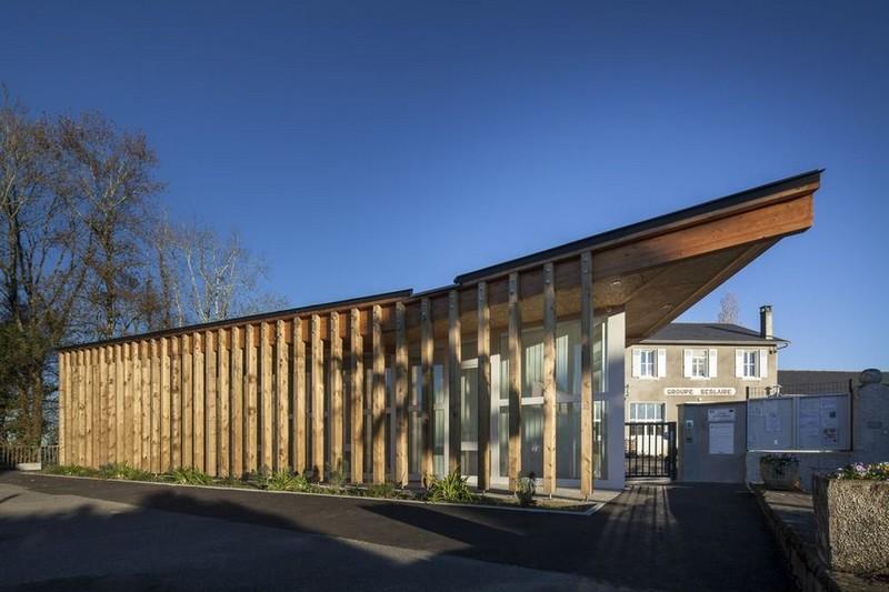 Conférence : Réhabilitation / extension en bois - MOURENX