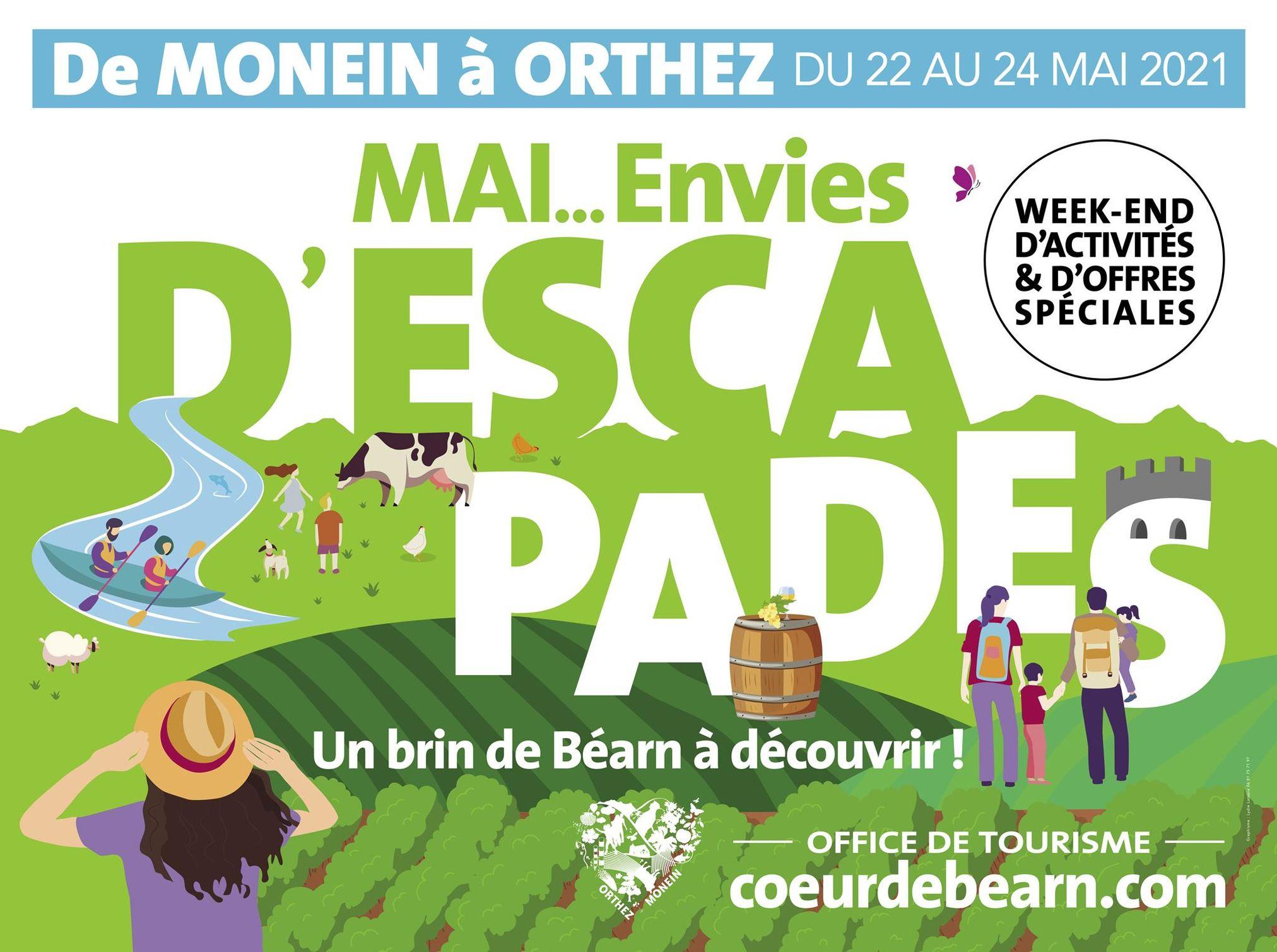 Visite et dégustation accord mets et vin : Domaine Montesquiou - MONEIN