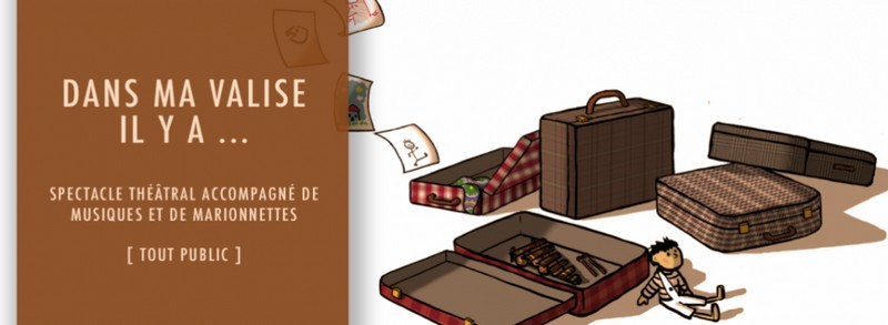 Spectacle : Dans ma valise - SALLESPISSE