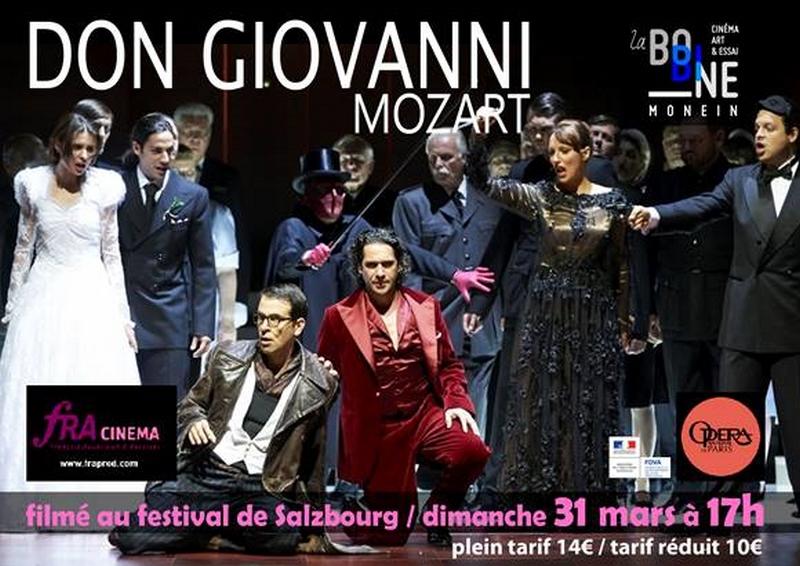 Ciné-opéra : Don Giovanni - MONEIN