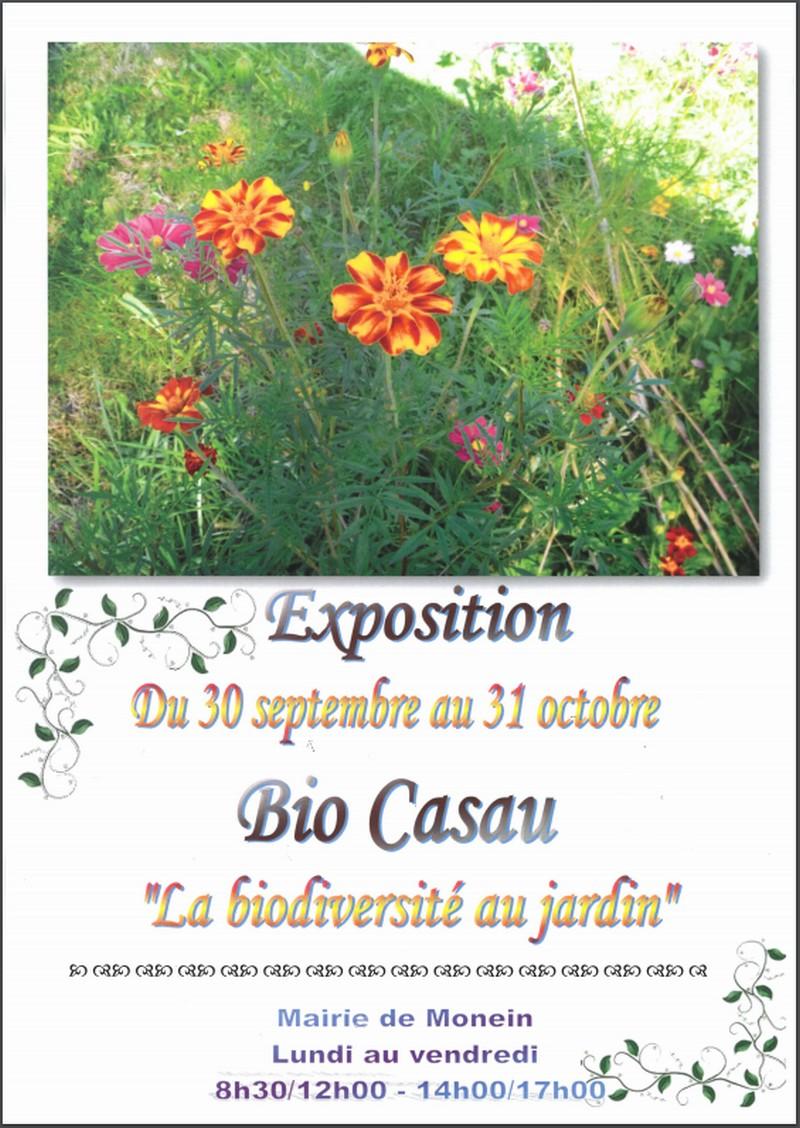 Exposition : La biodiversité au jardin - MONEIN