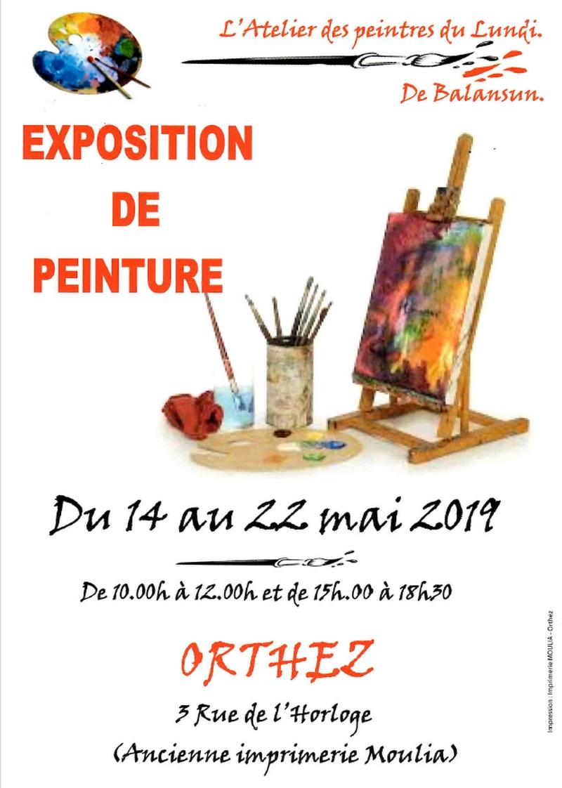 Exposition de peinture - ORTHEZ