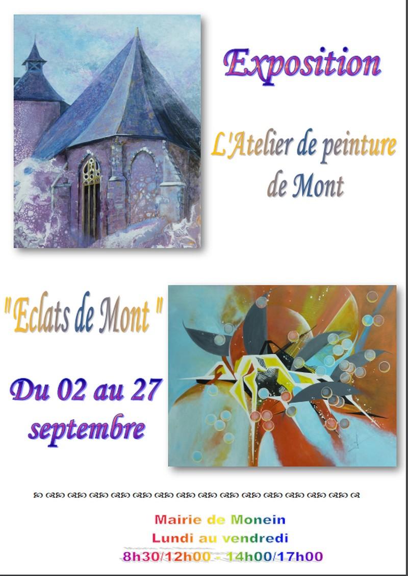 Exposition : Eclats de Mont - MONEIN