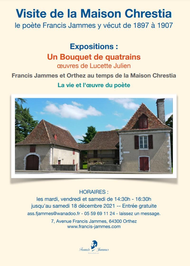 Exposition : La vie et l'oeuvre du poète et Francis Jammes et la botanique - ORTHEZ