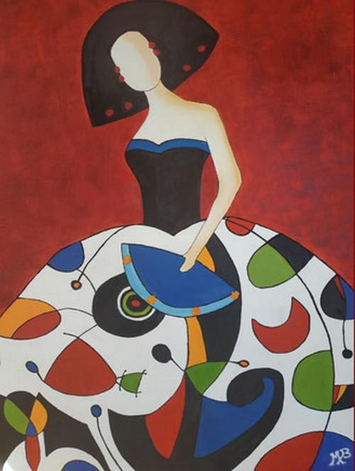 Exposition : Michelle Bernadbéroy - MOURENX