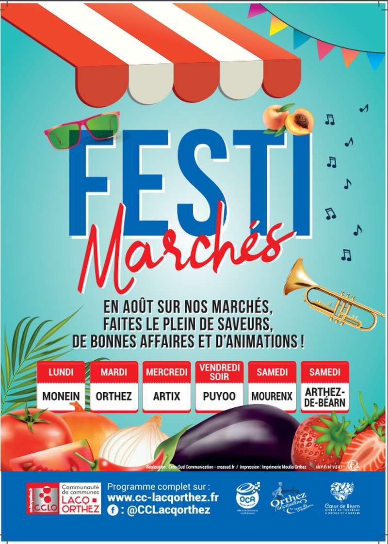Festi marchés - ORTHEZ
