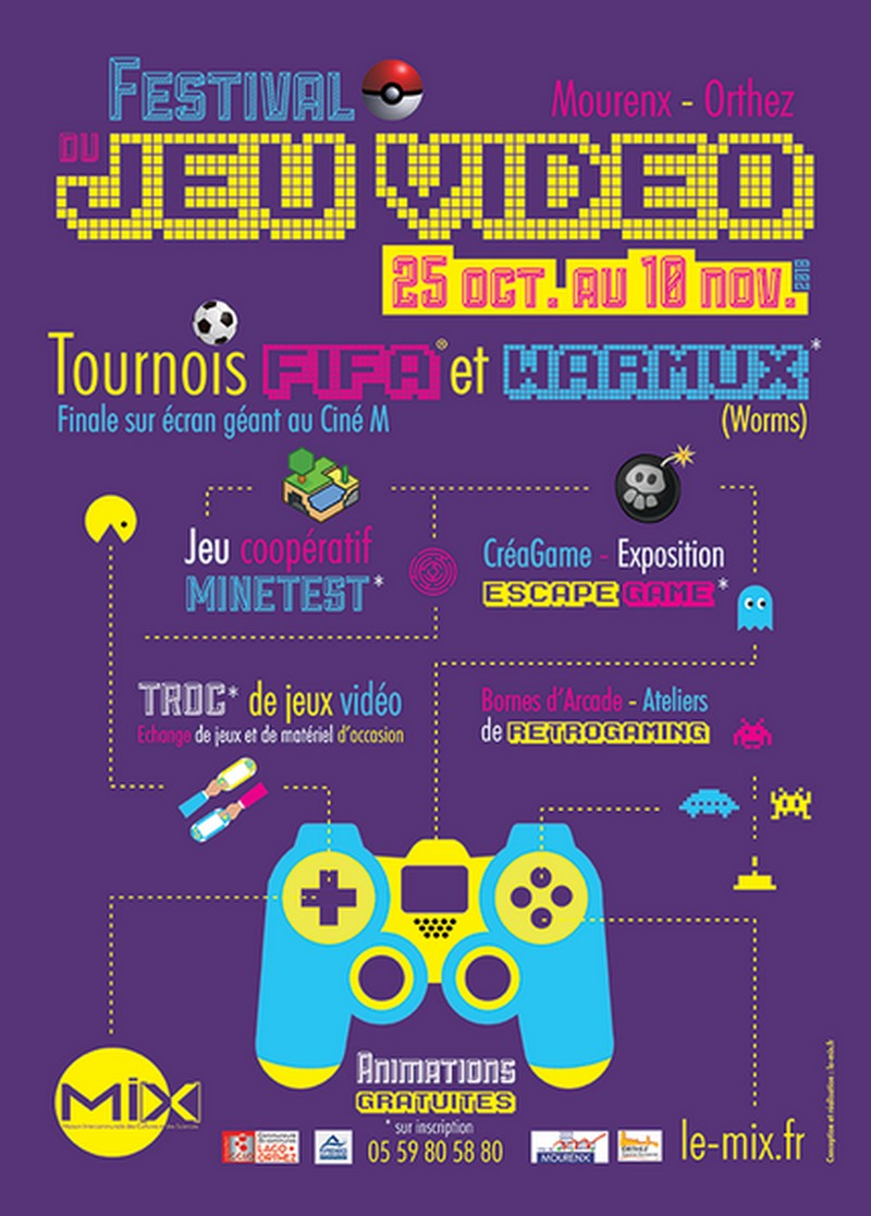 Festival du jeu vidéo : Troc de jeux vidéo - MOURENX