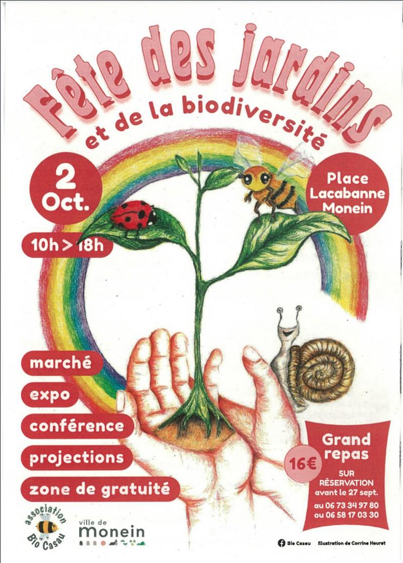 Fête des jardins et de la biodiversité - MONEIN
