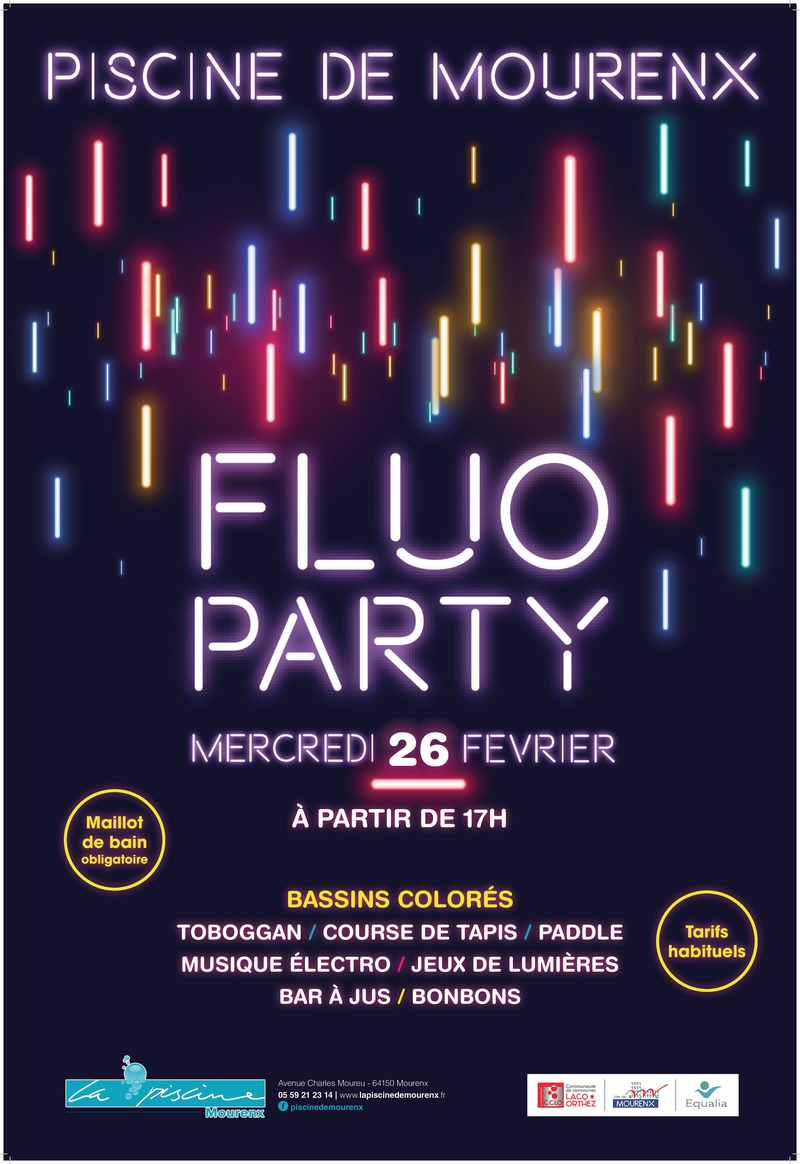 Fluo Party - MOURENX