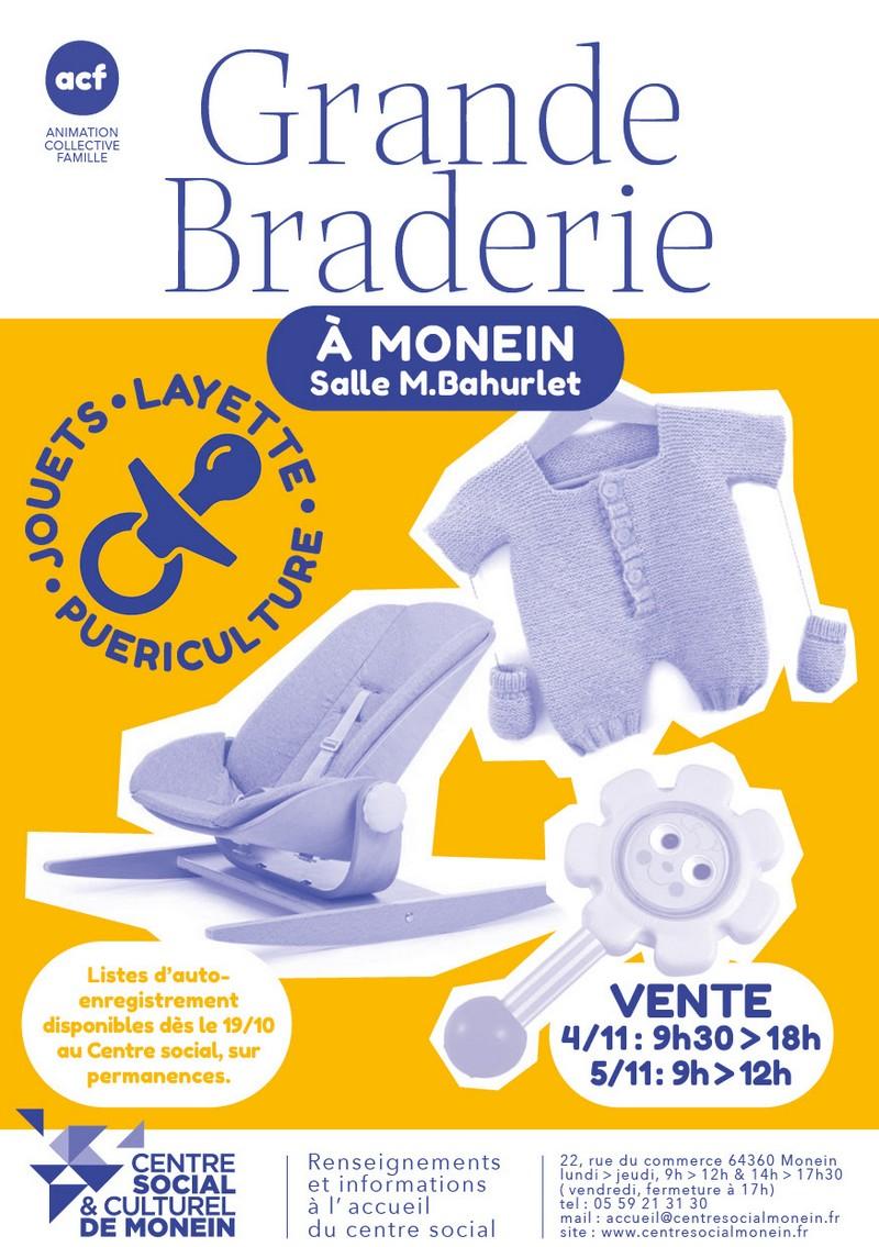 Grande Braderie - MONEIN