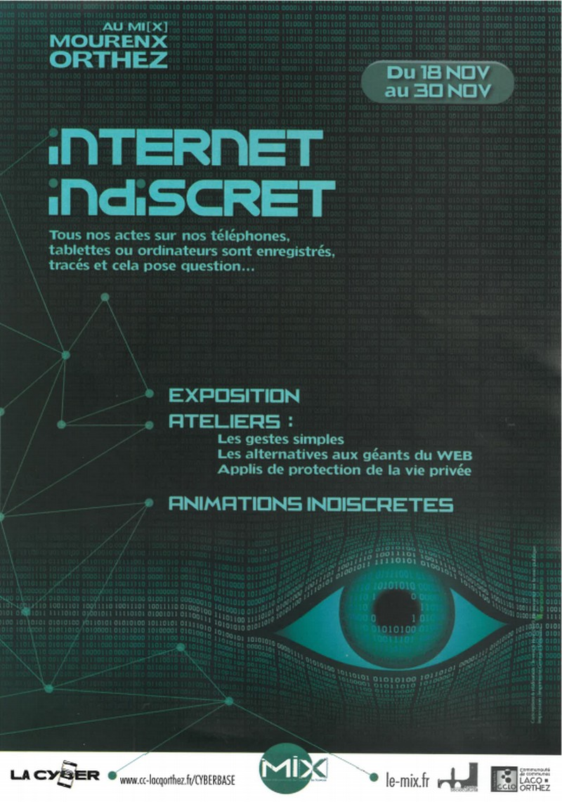 Cyber apéro : Internet indiscret ? On en discute ! - MOURENX