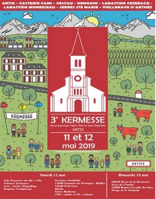 Kermesse de la paroisse - ARTIX