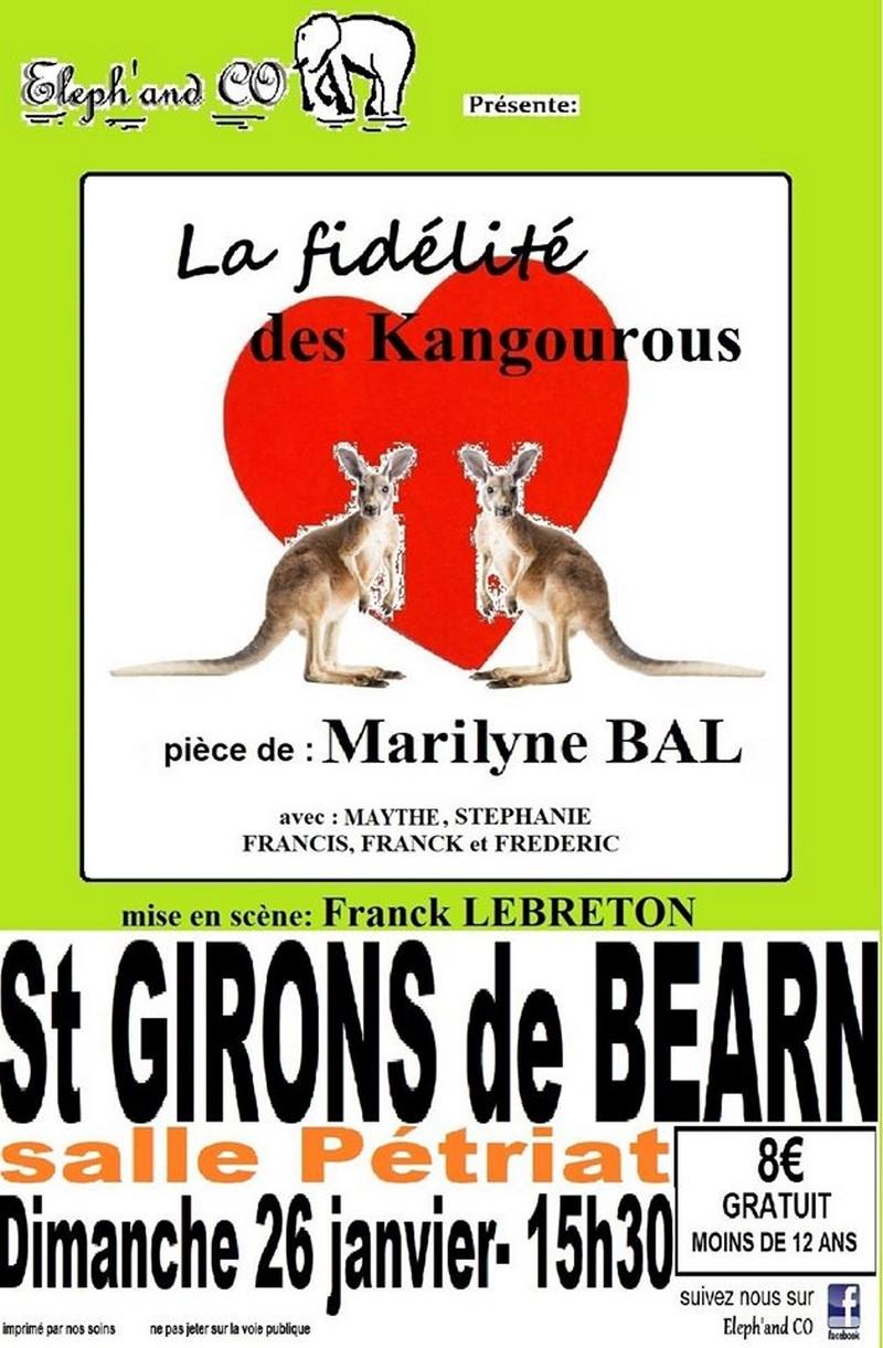 Théâtre : La fidélité des Kangourous - SAINT-GIRONS-EN-BEARN