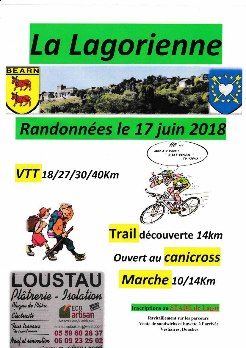 La Lagorienne : Trail, marche, VTT - LAGOR
