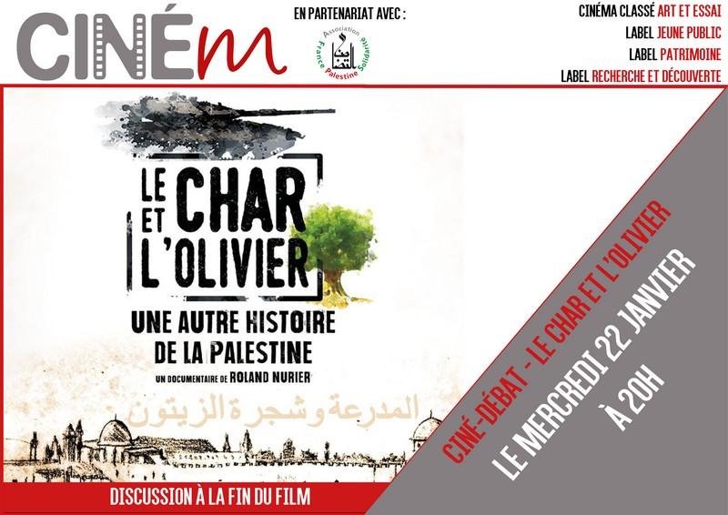 Ciné débat : Le char et l'olivier - MOURENX
