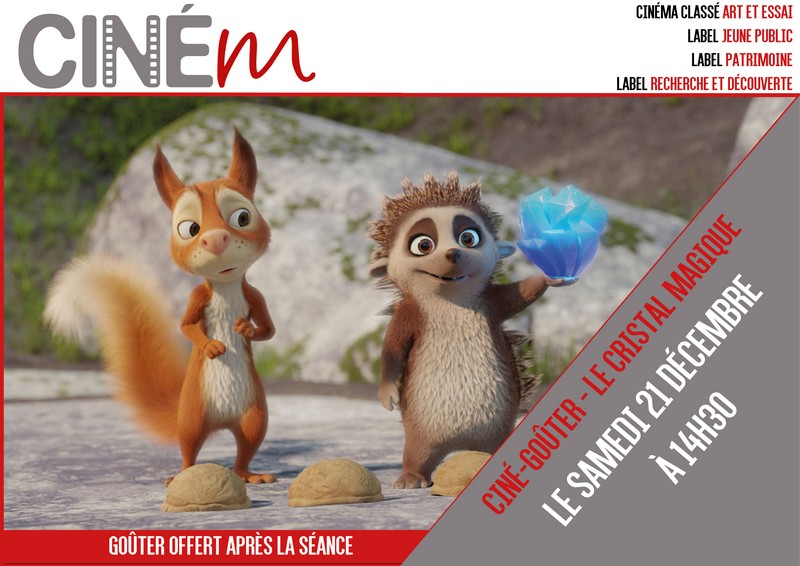 Ciné-goûter : Le cristal magique - MOURENX