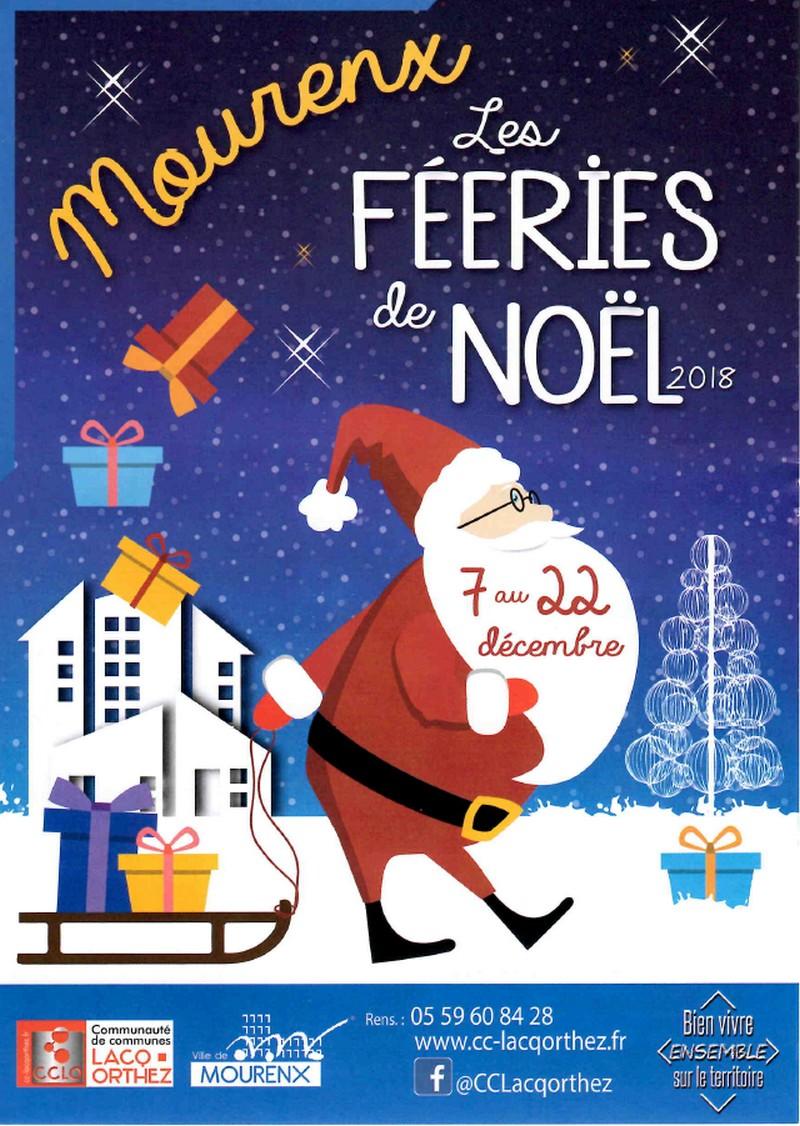 Les féeries de Noël : marchés festifs - MOURENX