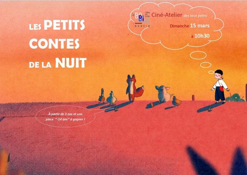 Ciné-atelier : Les petits contes de la nuit - MONEIN
