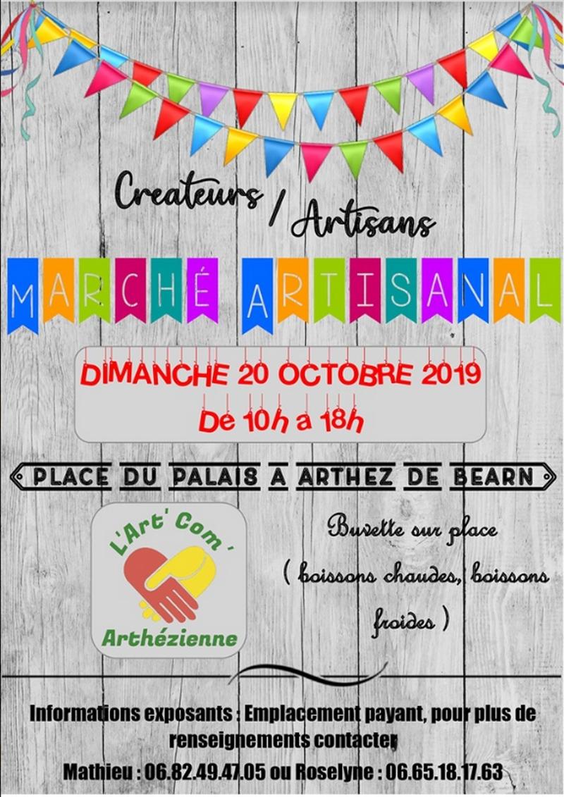 Marché artisanal - ARTHEZ-DE-BEARN
