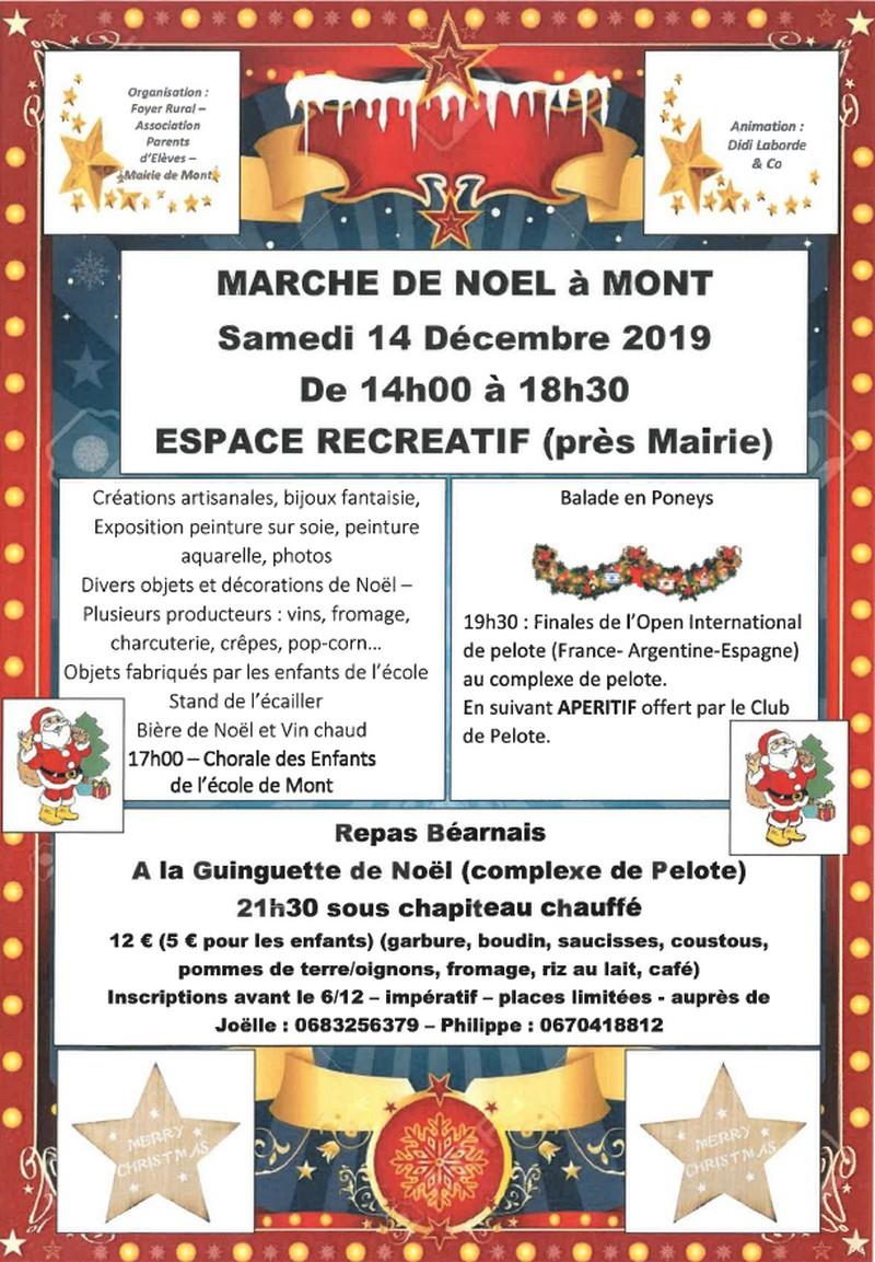 Marché de Noël - MONT
