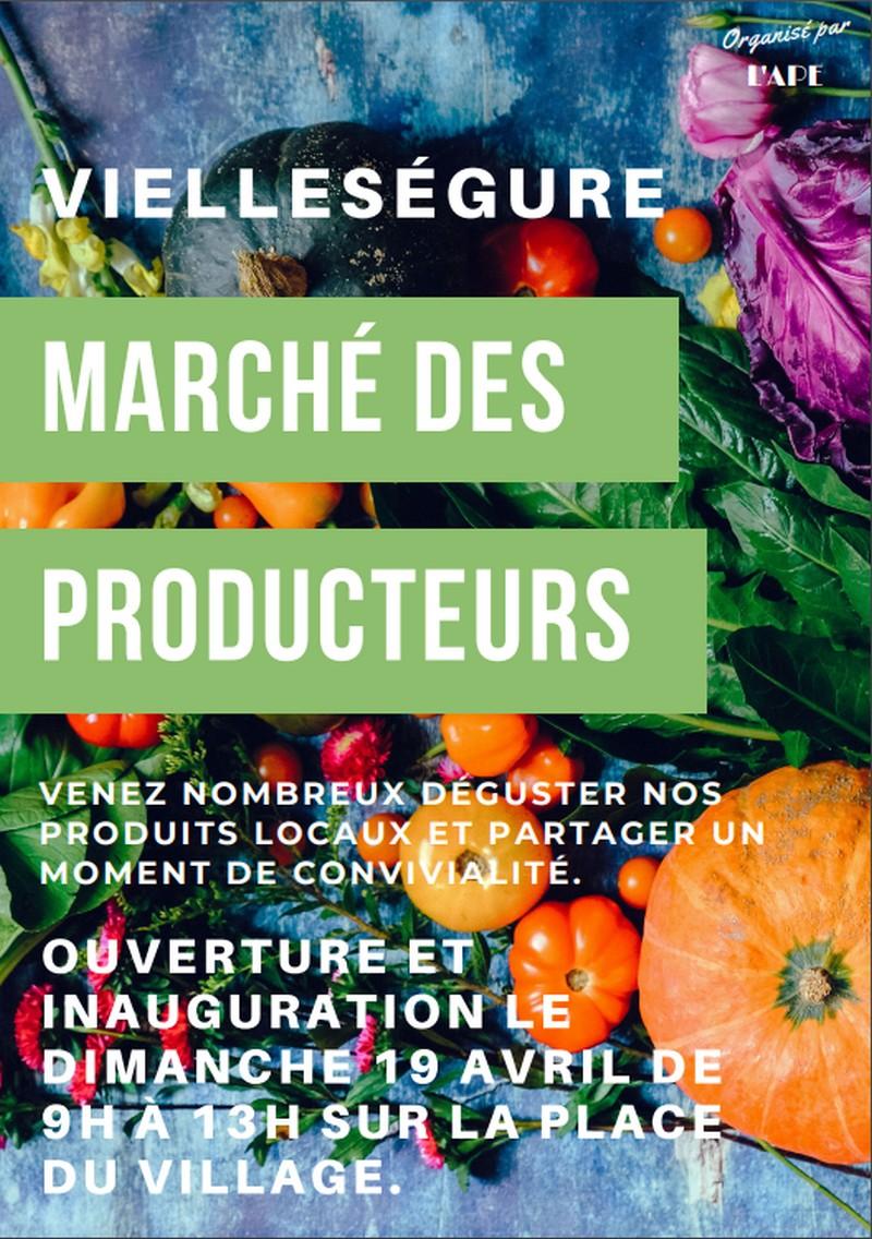 Marché des producteurs - VIELLESEGURE
