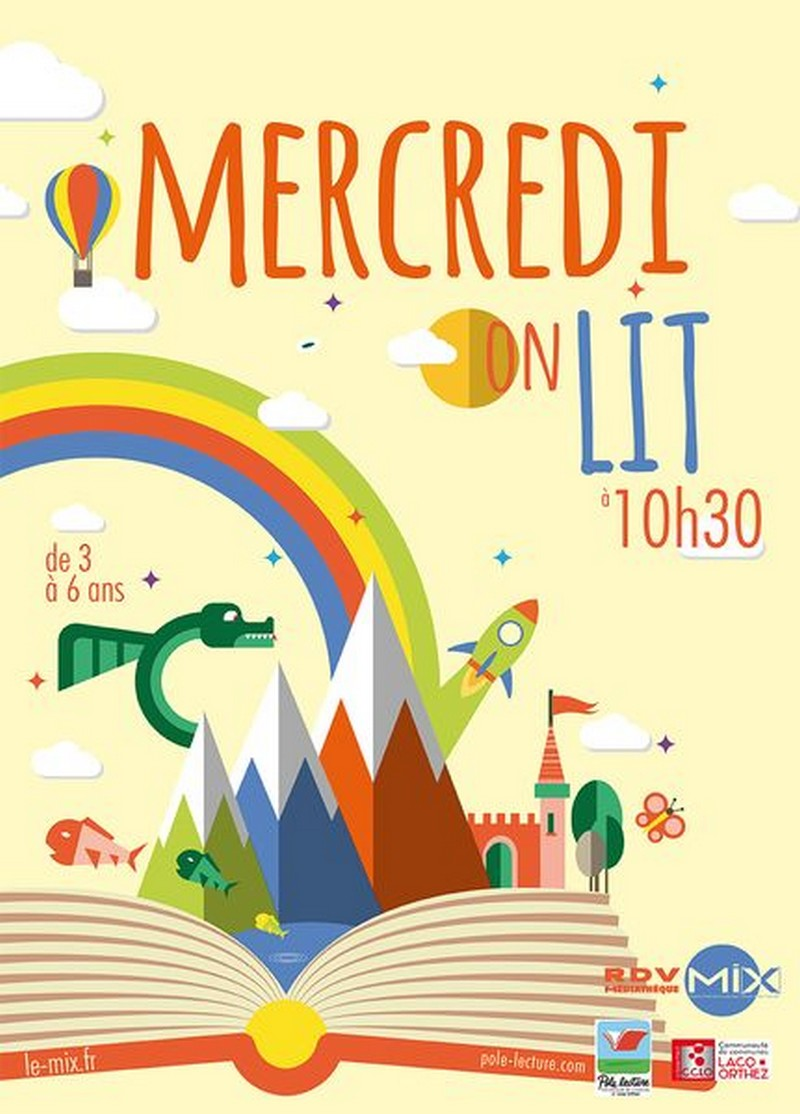 Mercredi on lit - MOURENX