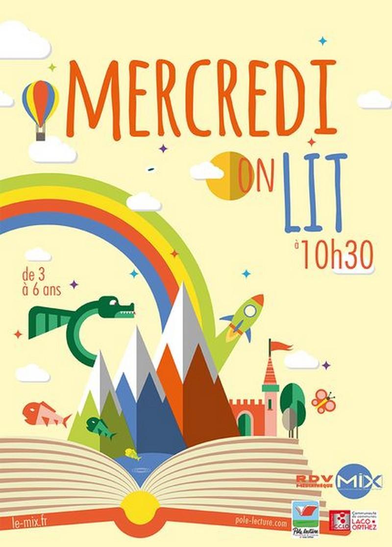 Mercredi on lit - MOURENX