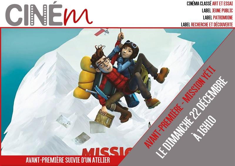 Ciné-atelier : Mission Yéti - MOURENX