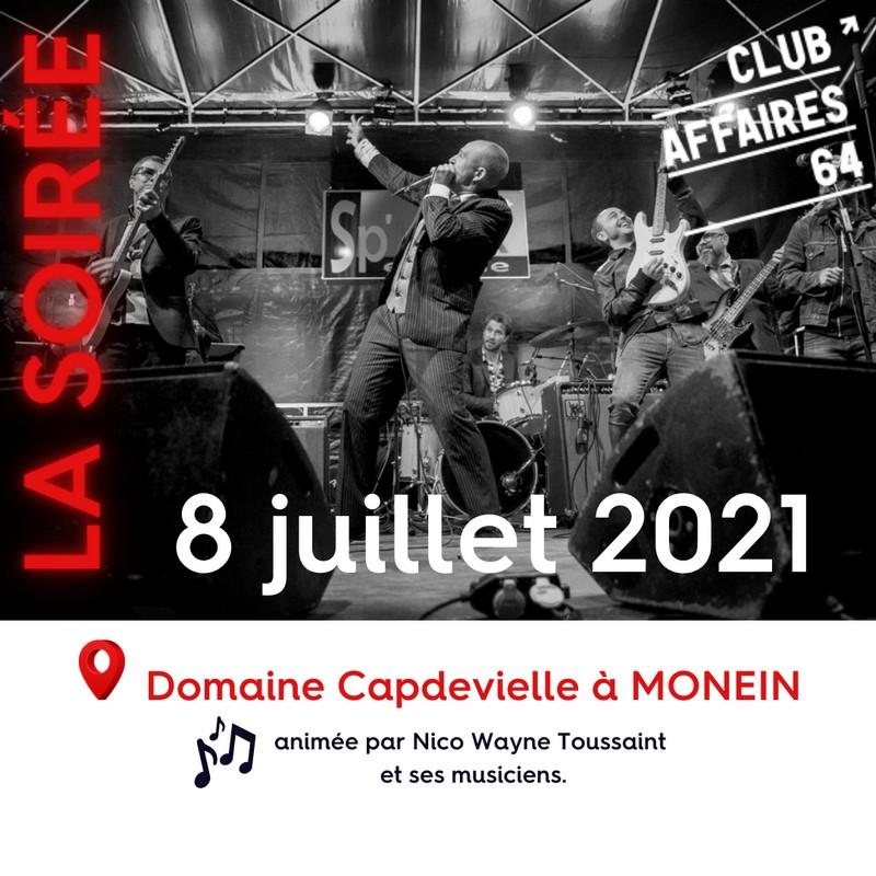 Concert : Nico Wayne Toussaint - MONEIN