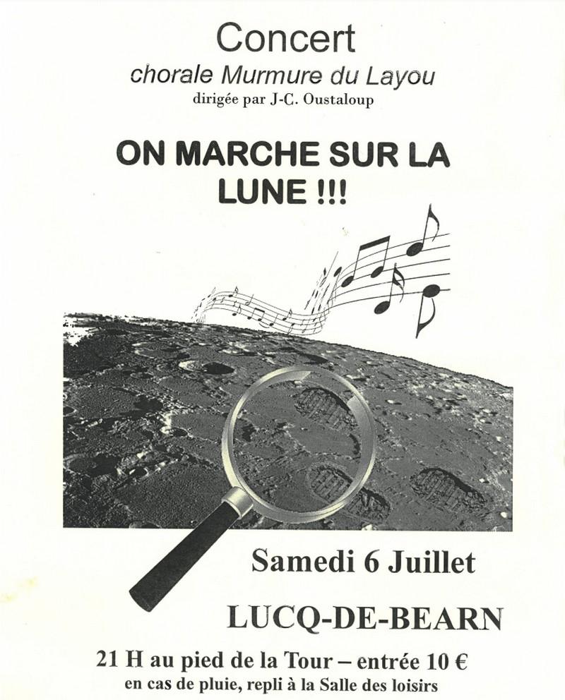 On marche sur la Lune... - LUCQ-DE-BEARN
