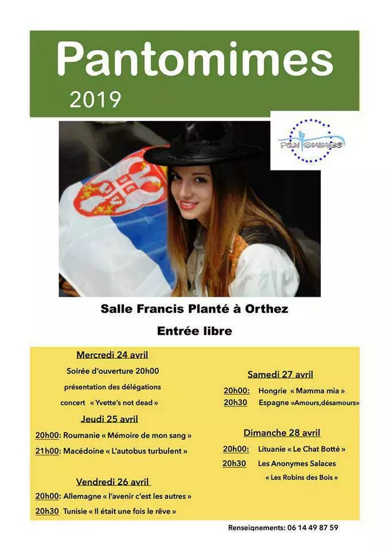 Festival international de théâtre scolaire - ORTHEZ