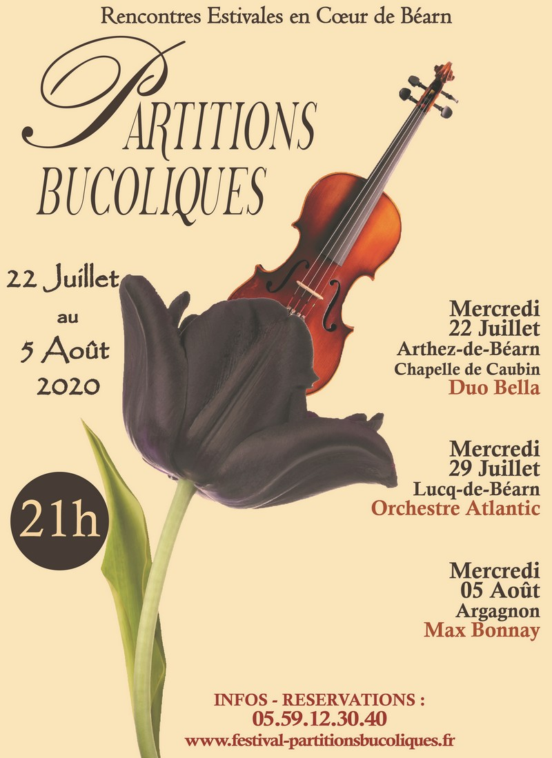 Partitions Bucoliques - Concert : Duo Bella - ARTHEZ-DE-BEARN