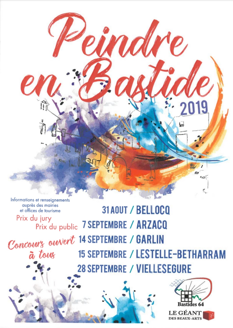 Concours : Peindre en bastide - BELLOCQ