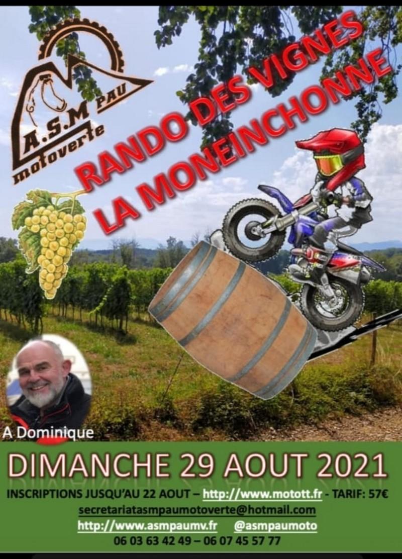 Rando des vignes La Moneinchonne - MONEIN
