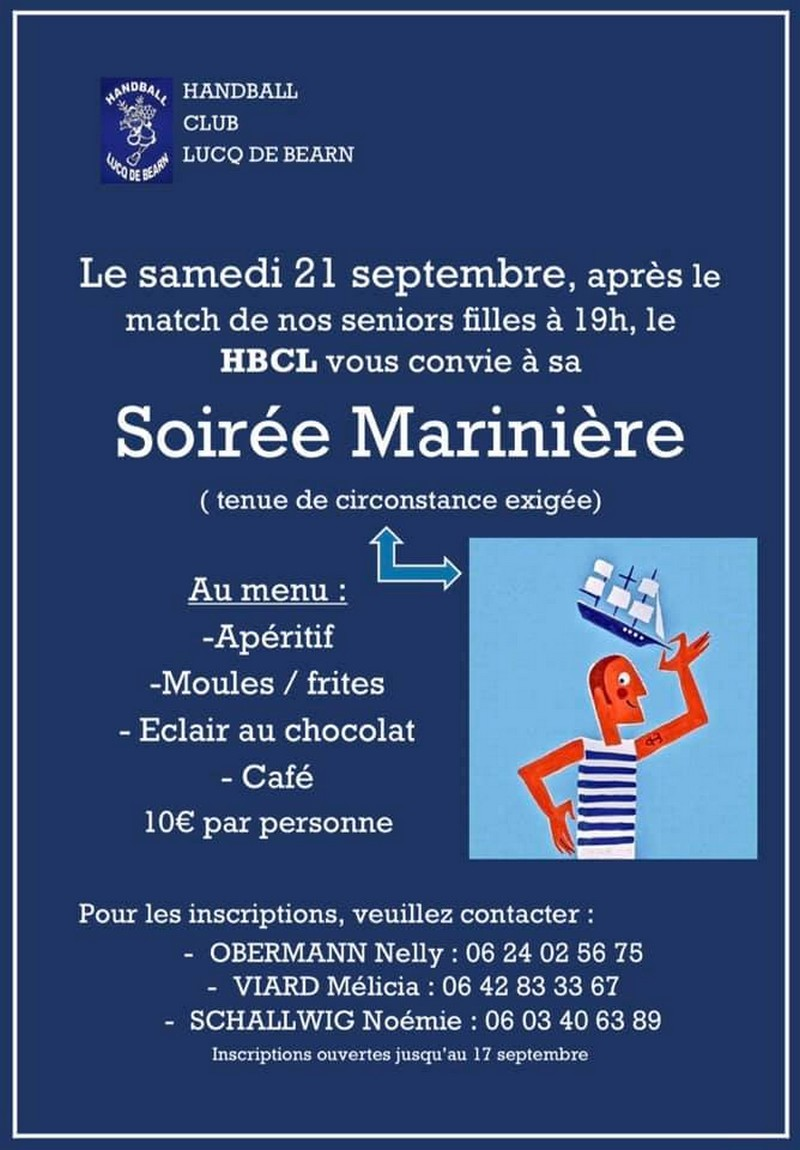 Soirée marinière - LUCQ-DE-BEARN