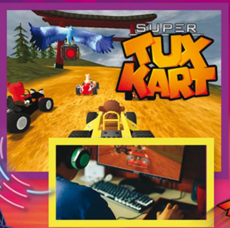 Journées du jeu vidéo : Super TuxKart - ORTHEZ