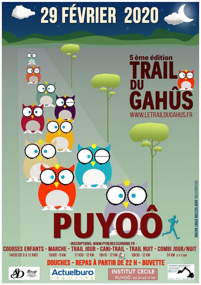 Le trail du Gahûs - PUYOO